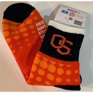 Oregon State AKM Crew Socks Large